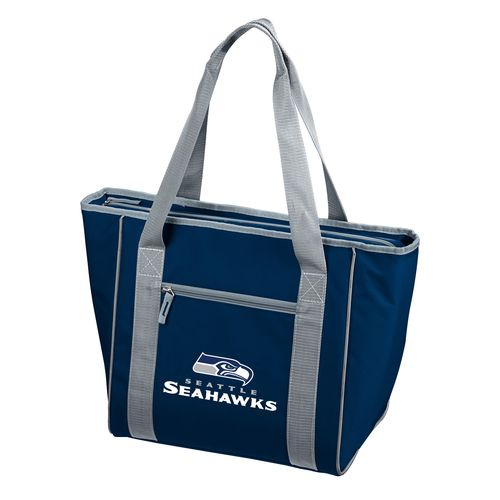 Logo™ Seattle Seahawks 30-Can Cooler Tote Bag - view number 1
