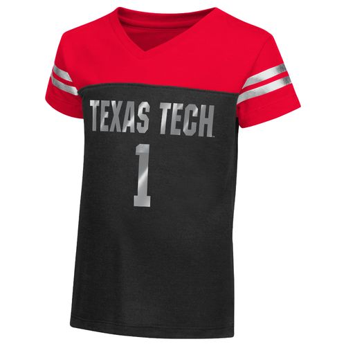 Colosseum Athletics™ Toddler Girls' Texas Tech University Nickle T-shirt