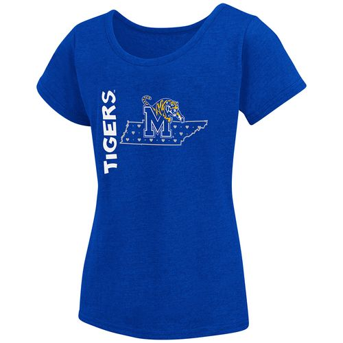Colosseum Athletics Girls' University of Memphis T-shirt
