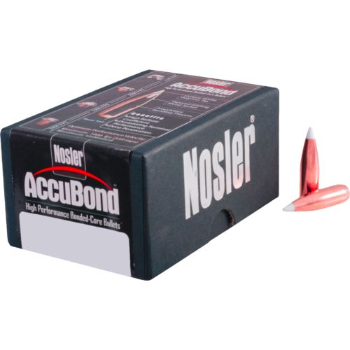 Nosler AccuBond Bonded Core 6.5mm 130-Grain Reloading Bullets