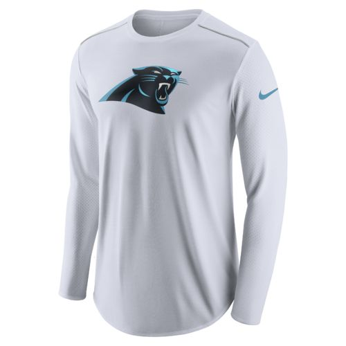 Nike Men's Carolina Panthers Long Sleeve Player Top