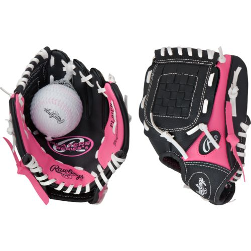 "Rawlings® Youth Players Series 9"" T-ball Glove Left-handed with Ball"