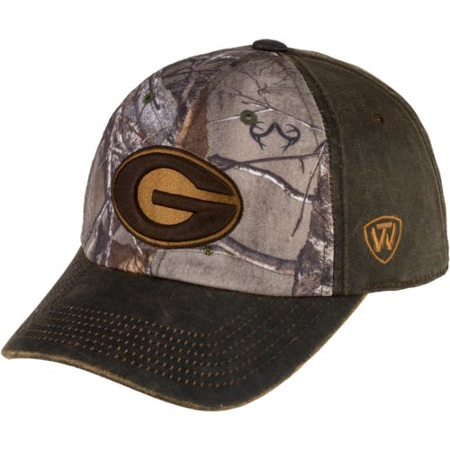 Top of the World Men's University of Georgia Driftwood Cap