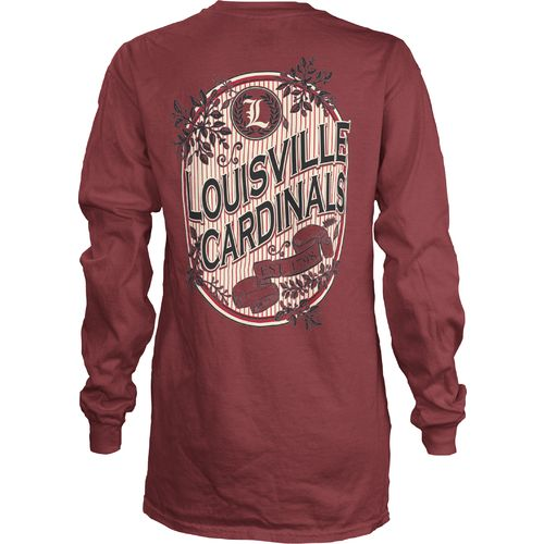 Three Squared Girls' University of Louisville Maya Long Sleeve Shirt