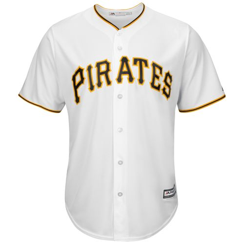 Majestic Men's Pittsburgh Pirates Jeff Locke #49 Cool Base® Jersey - view number 3