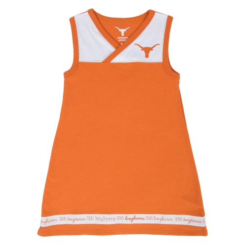 We Are Texas Toddler Girls' University of Texas Sandy Sleeveless Dress