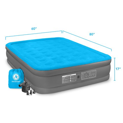 Air Comfort Camp Mate Raised Queen-Size Air Mattress with Battery-Powered Pump - view number 9