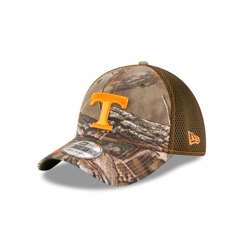 New Era Men's University of Tennessee Realtree Camo Neo 39THIRTY Cap