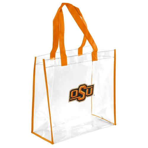 Team Beans Oklahoma State University Clear Reusable Bag