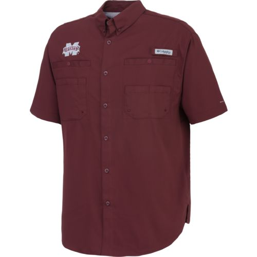 Columbia Sportswear Men's Mississippi State University Tamiami™ Button Down Shirt - view number 1