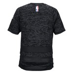 adidas™ Men's Houston Rockets Short Sleeve Shooter T-shirt - view number 2