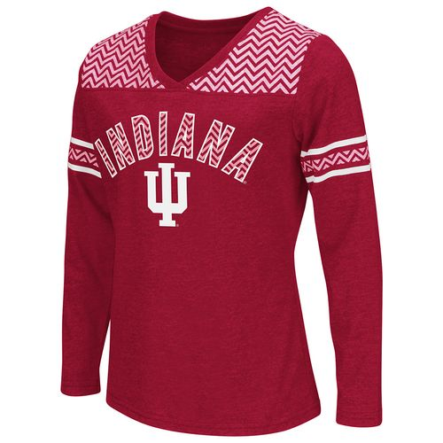 Colosseum Athletics™ Girls' Indiana University Cupie Long Sleeve Shirt