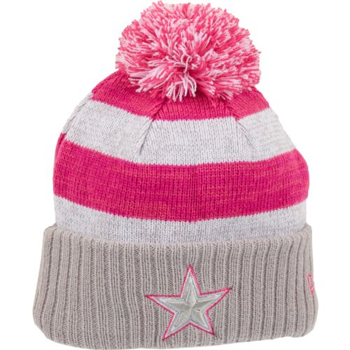 New Era Women's Dallas Cowboys Breast Cancer Awareness Knit Cap