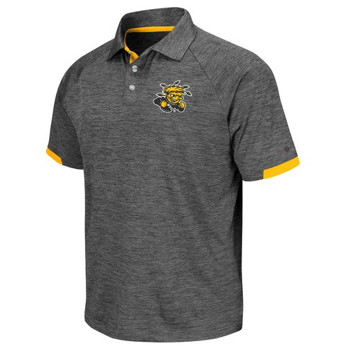 Colosseum Athletics Men's Wichita State University Spiral Polo Shirt