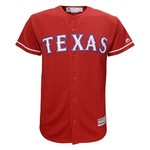 Majestic Boys' Texas Rangers Nomar Mazara #30 COOL BASE® Jersey - view number 2
