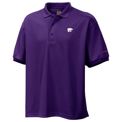 Columbia Sportswear Men's Kansas State University Perfect Cast Polo Shirt