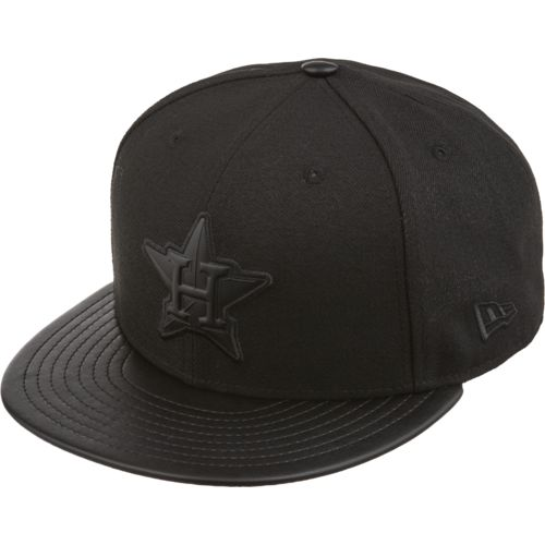 New Era Men's Houston Astros Tonal Trick Snapback Cap