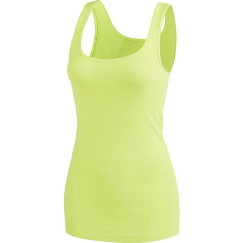 Display product reviews for BCG Women's Baby Rib Tank Top
