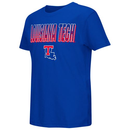Colosseum Athletics™ Youth Louisiana Tech University Gack Short Sleeve T-shirt - view number 1