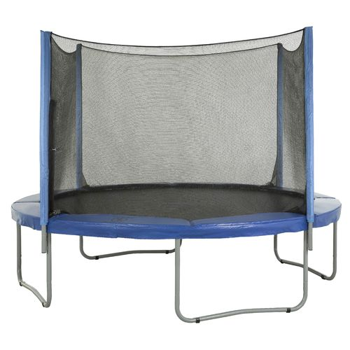 Upper Bounce® Replacement Trampoline Enclosure Net for 12' Round Frames with 4 Straight Pol - view number 7