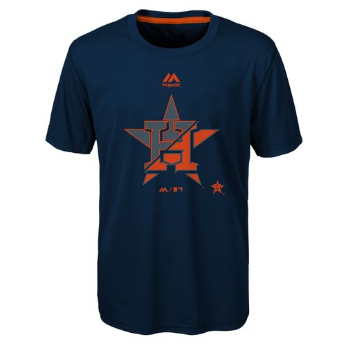 Majestic Youth Houston Astros Split Series Ultra T-shirt - view number 1