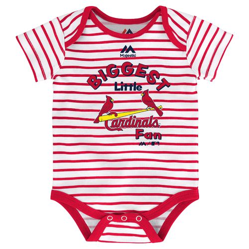 Majestic Infants' St. Louis Cardinals Home Run Onesies 3-Pack - view number 3