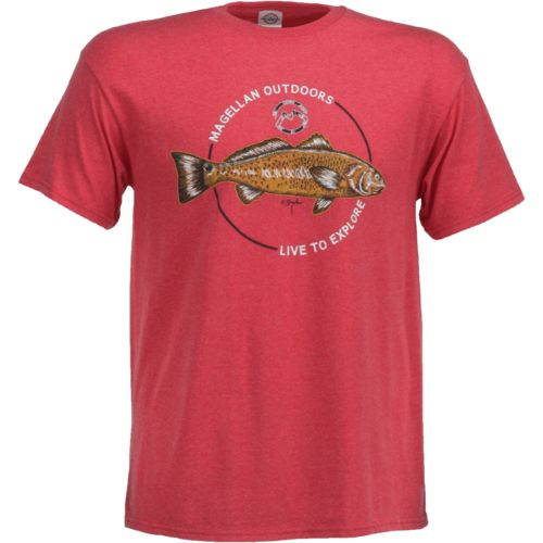 Magellan Outdoors Men's Sketched Redfish T-shirt
