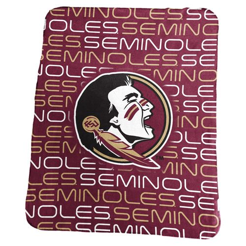 Logo Florida State University 50 in x 60 in Classic Fleece Blanket - view number 1