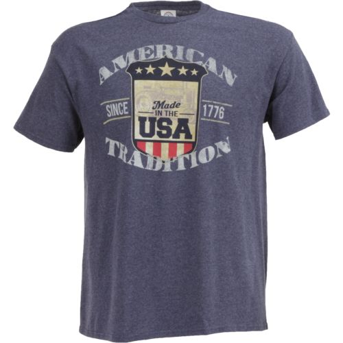 Academy Sports + Outdoors Men's American Tradition Shield T-shirt