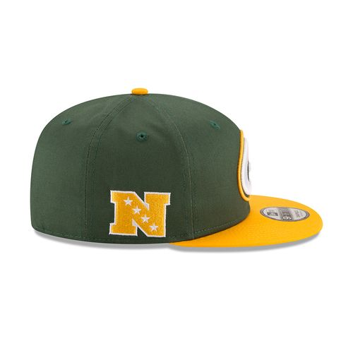 New Era Men's Green Bay Packers 9FIFTY Baycik Snapback Cap - view number 5