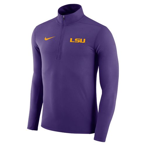 Nike™ Men's Louisiana State University Element 1/4 Zip Pullover