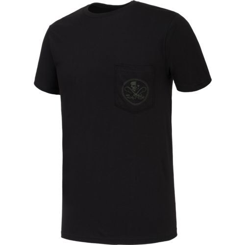 Salt Life Men's Skull and Hooks Short Sleeve T-shirt - view number 3