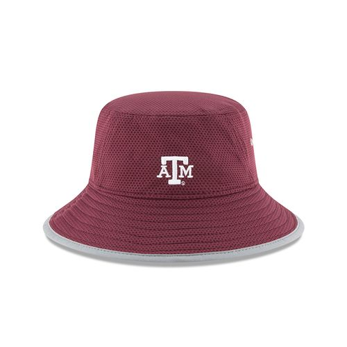 New Era Men's Texas A&M University Team Training Bucket Hat - view number 2