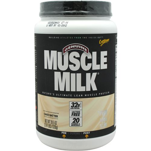Display product reviews for CytoSport Muscle Milk Powder 2.47 lbs