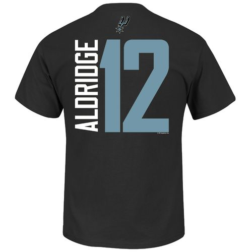 Majestic Men's San Antonio Spurs LaMarcus Aldridge #12 T-shirt