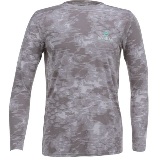 Display product reviews for Magellan Outdoors Men's Moisture Management Scaletech Long Sleeve Shirt