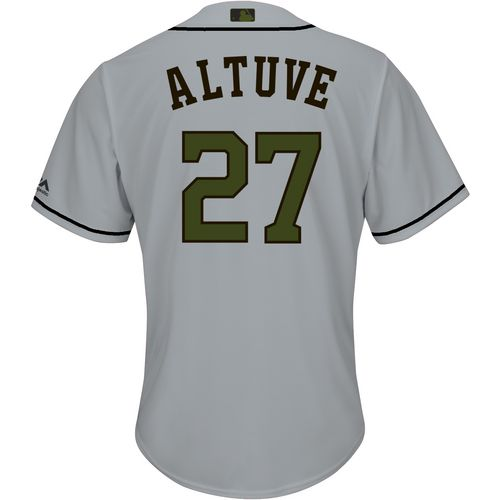 Majestic Men's Houston Astros Jose Altuve Memorial Day COOL BASE Jersey