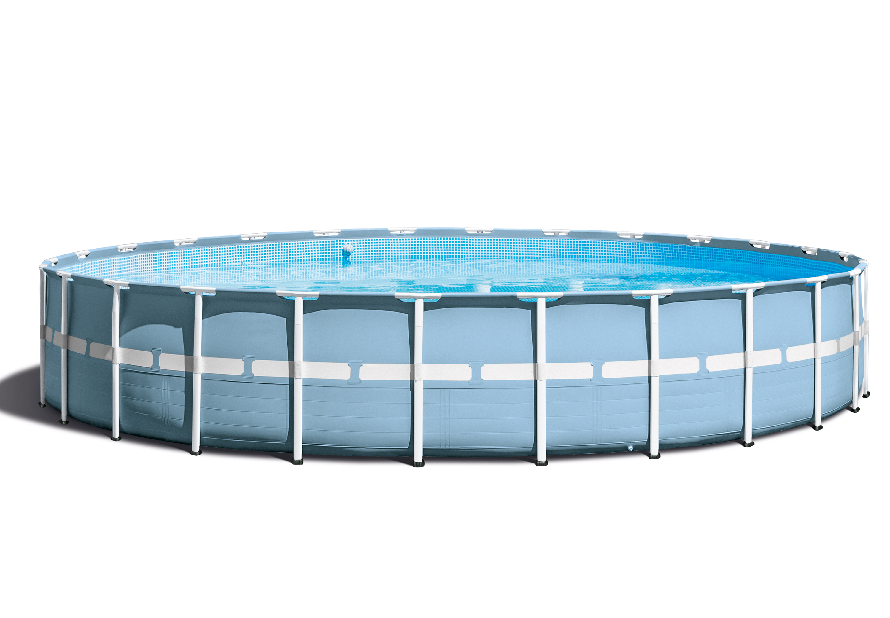 INTEX 24 ft x 52 in Prism Frame Round Pool Set