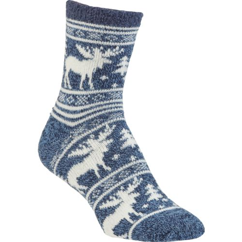 Display product reviews for Magellan Outdoors Women's Lodge Moose Pattern Socks