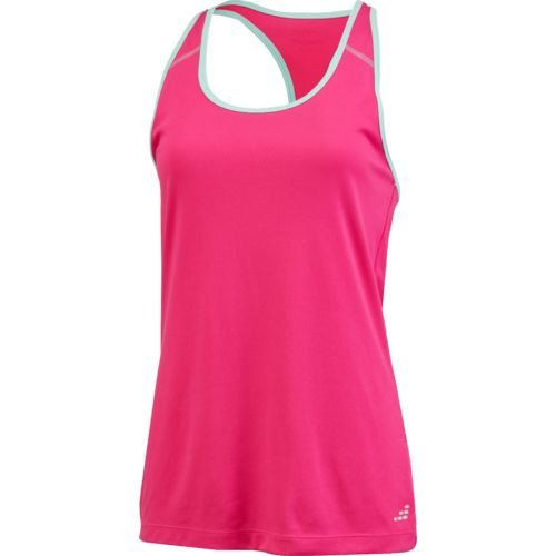 BCG Women's Racerback Solid Tech Tank Top - view number 3