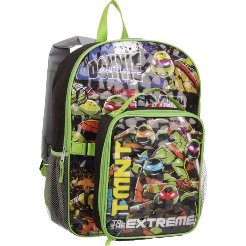 Teenage Mutant Ninja Turtles Boys' to the Extreme Backpack with Lunch Kit - view number 2