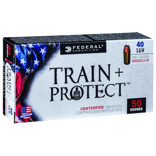 Display product reviews for Federal Premium Train & Protect .40 S&W 180-Grain Pistol Ammunition