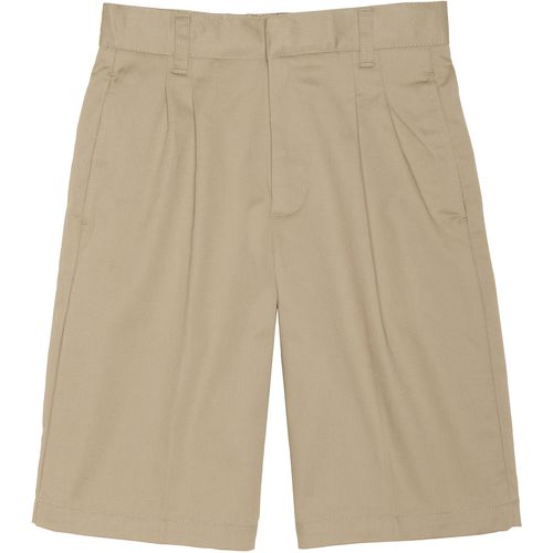 French Toast Boys' Pleated Adjustable Waist Uniform Short