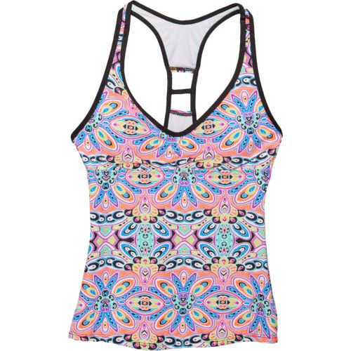 Next Women's Step Up Removable Soft Cup Racerback Tankini Swim Top