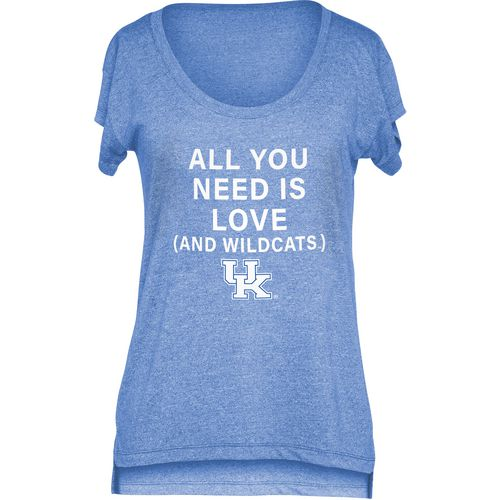 Chicka-d Women's University of Kentucky Scoop-Neck T-shirt