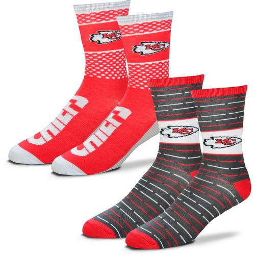 For Bare Feet Men's Kansas City Chiefs Father's Day Socks - view number 1