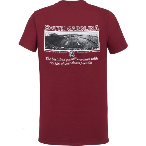 New World Graphics Men's University of South Carolina Friends Stadium T-shirt