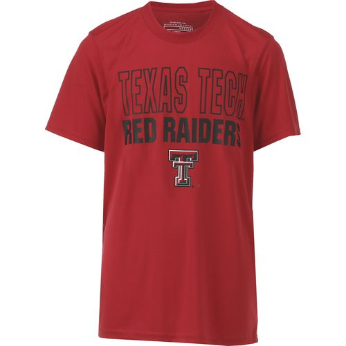 Colosseum Athletics Boys' Texas Tech University Team Mascot T-shirt