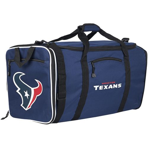 The Northwest Company Houston Texans Steel Duffel Bag