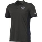 Nike Men's Dallas Cowboys Evergreen Polo Shirt - view number 3